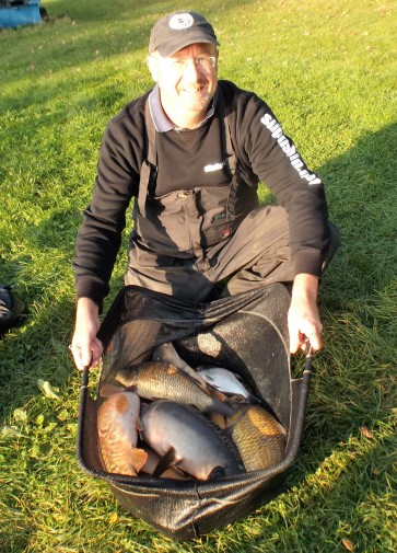 A late salmon run boosted the net to 39lb 3